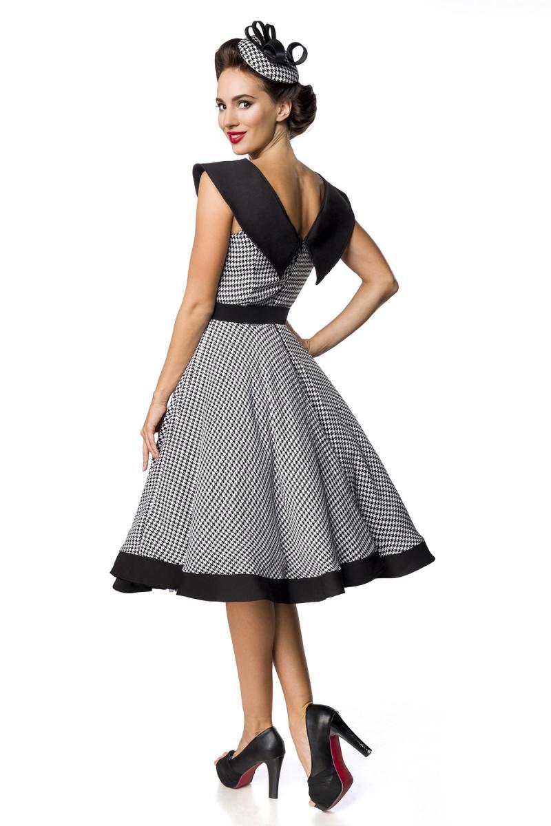 Vállnélküli Prémium Vintage Swing ruha
