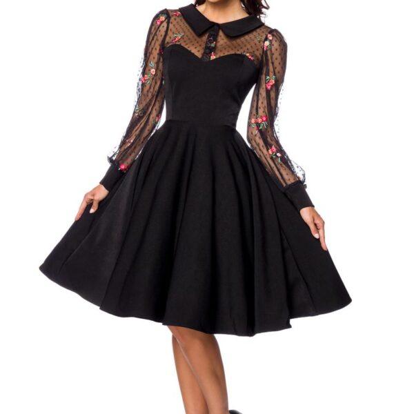 Fekete vintage ruha
