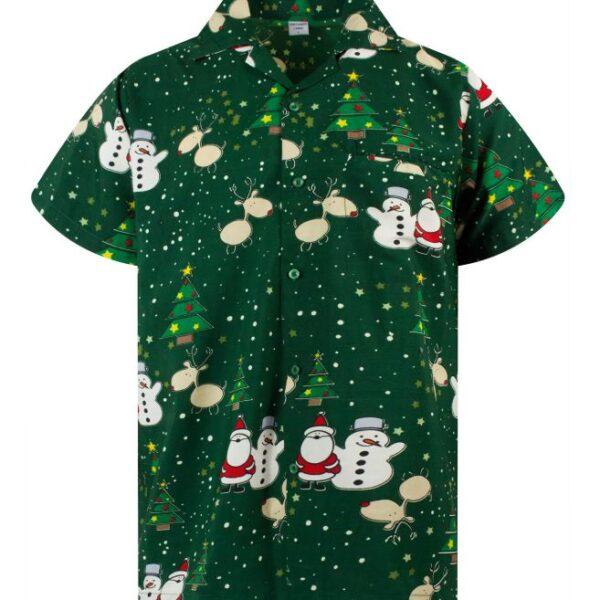 Christmas Hawaii ing, zöld-0
