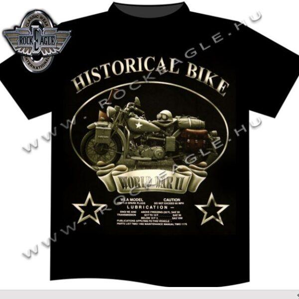 Historical Bike motoros póló-0