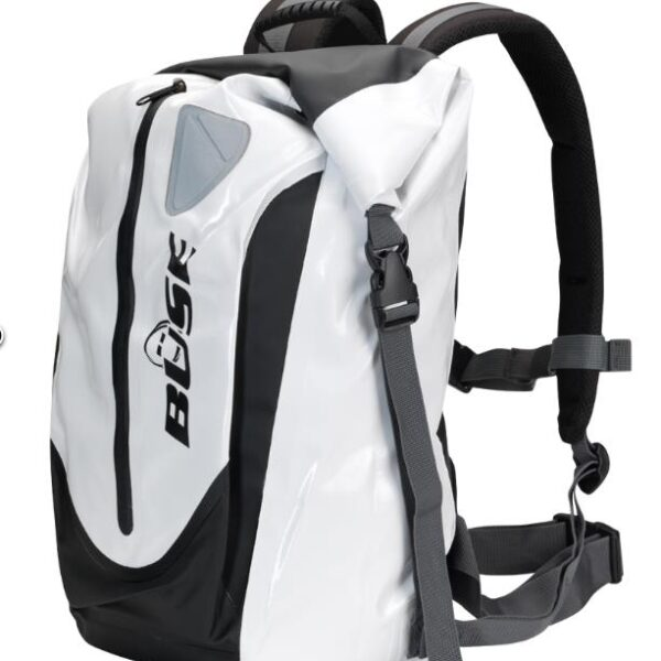 BÜSE hátizsák fehér színben-0