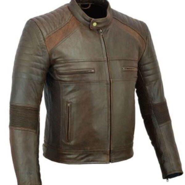 Vintage motoros bőrdzseki-0