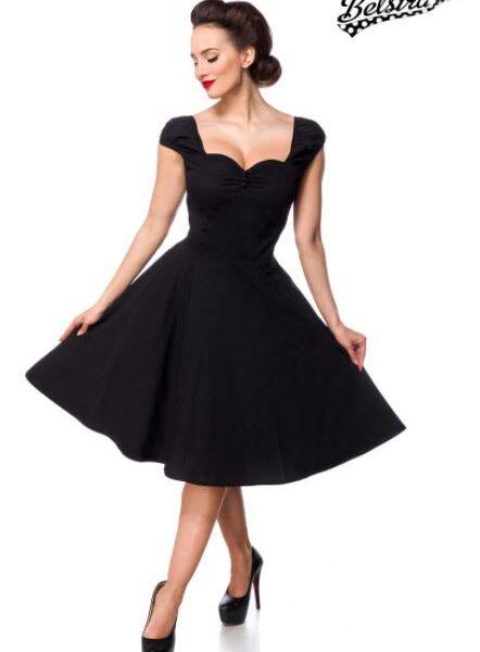 Fekete retro ruha