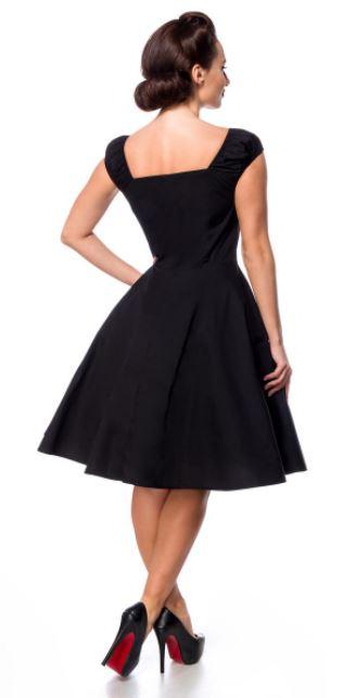 Fekete retro ruha a Belsirától S-4XL méretekben.