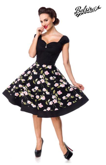Virágos retro ruha
