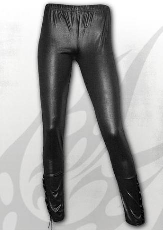 Gothic Rock bőrhatású leggings